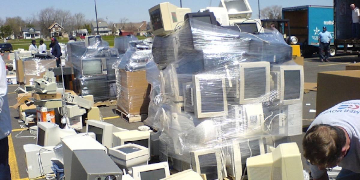 Dell prohibe exportaciones de basura tecnológica a países en vías de desarrollo
