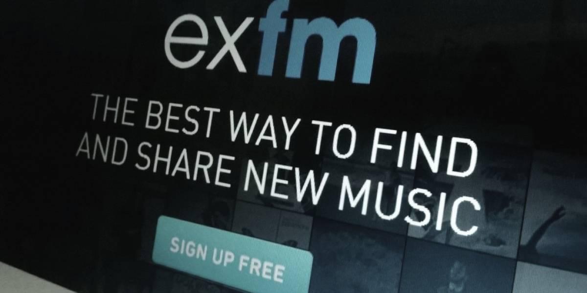 Servicio para descubrir música ExFM anuncia su adiós
