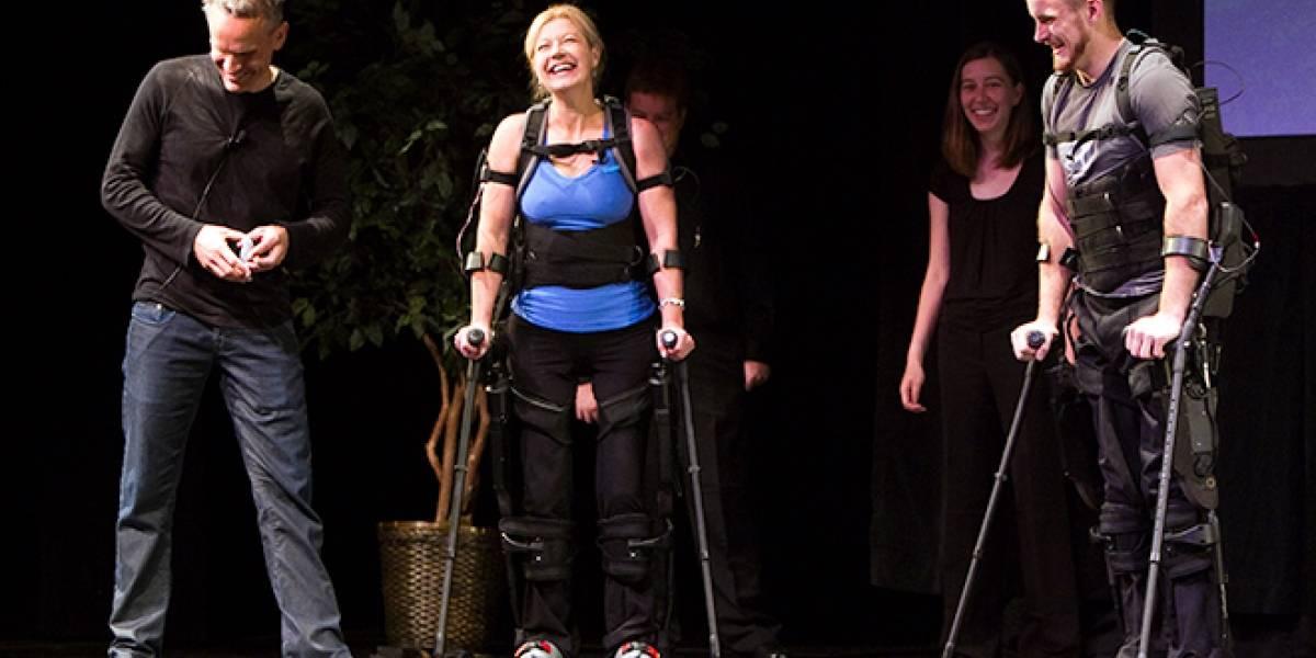 eLEGS: Exoesqueleto ligero da nuevas piernas a parapléjicos