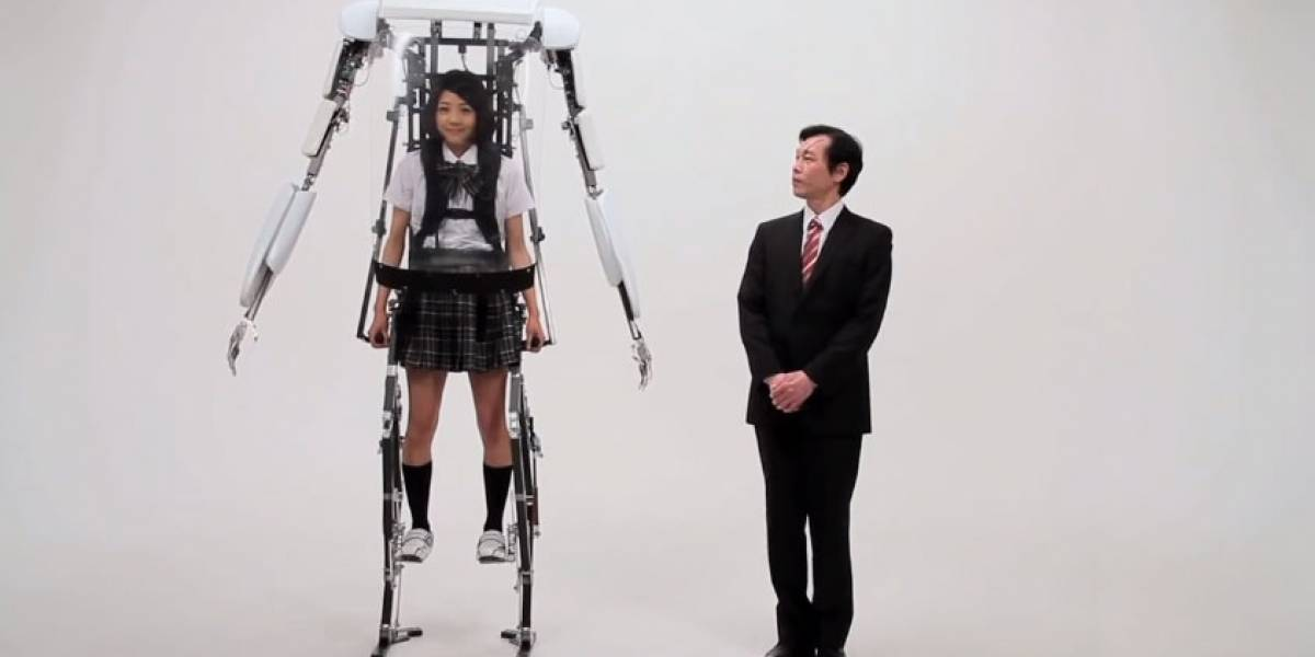 Powered Jacket MK3: El exoesqueleto que todo geek desearía tener