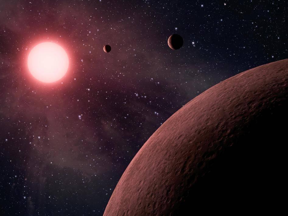Exoplaneta es estudiado por científicos combinando cuatro diferentes telescopios