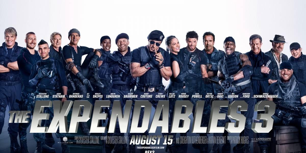 """Cómo se filtró una copia en calidad """"casi"""" de DVD de The Expendables 3"""