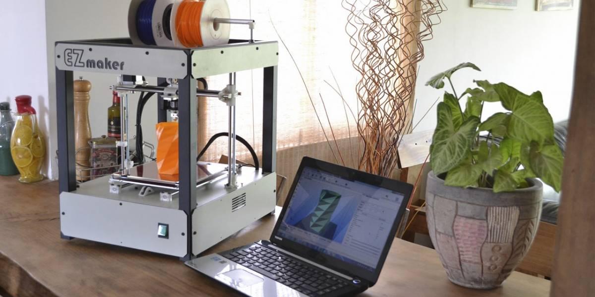 EZworks, otra impresora 3D hecha en Chile