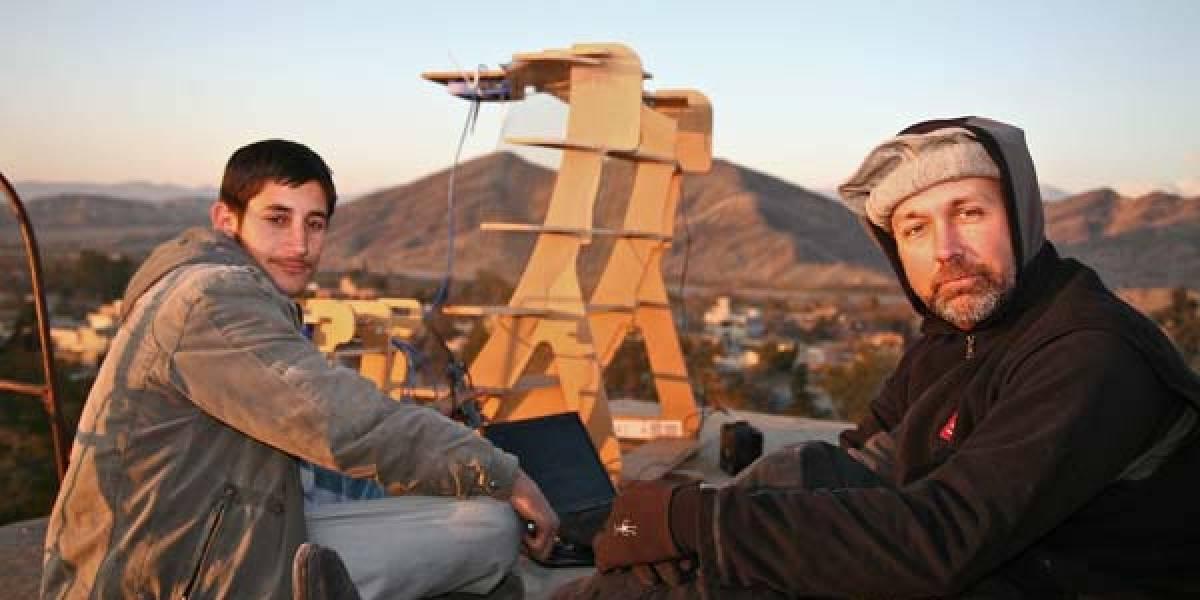 La internet de desechos construida en Afganistán