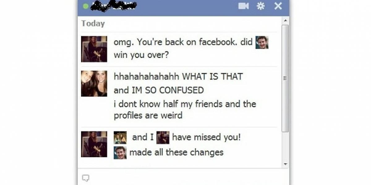 Ahora puedes usar las fotos de perfil como emoticonos en el chat de Facebook