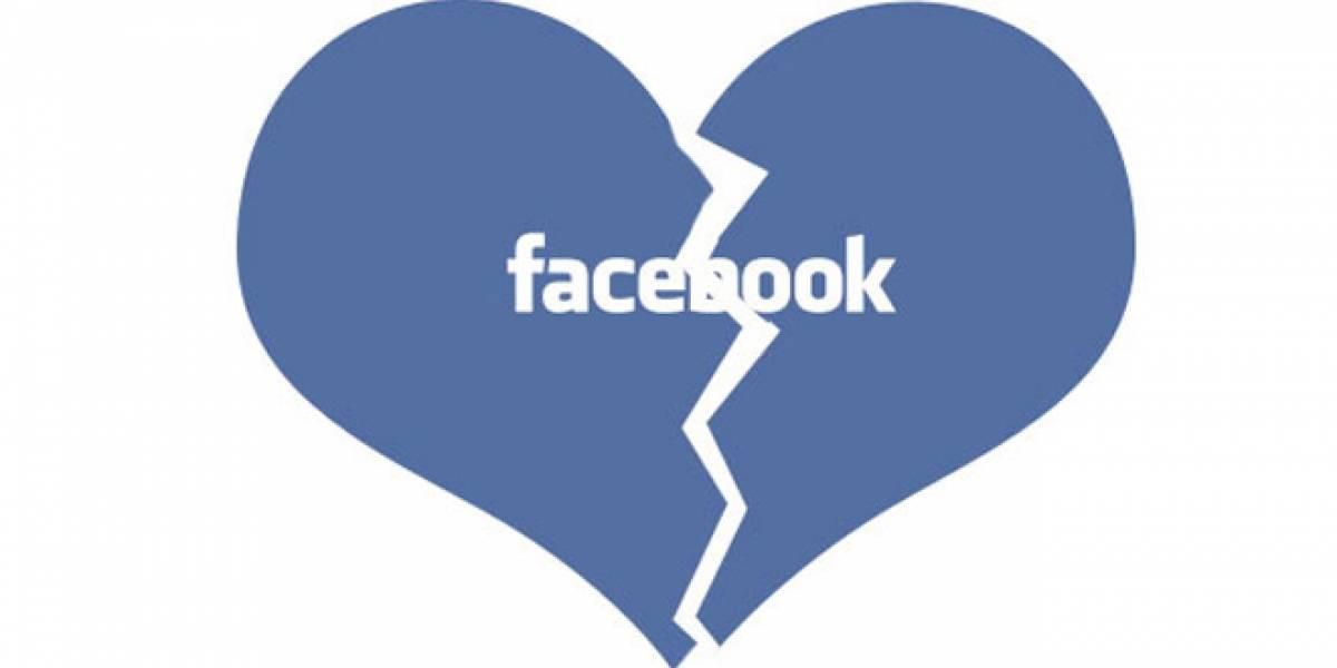 Facebook es citado en una tercera parte de los divorcios en el Reino Unido