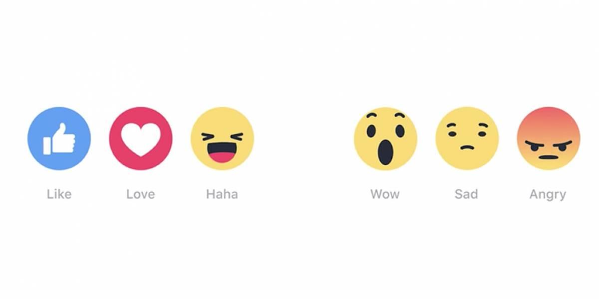 Hoy llegan las nuevas emociones a Facebook