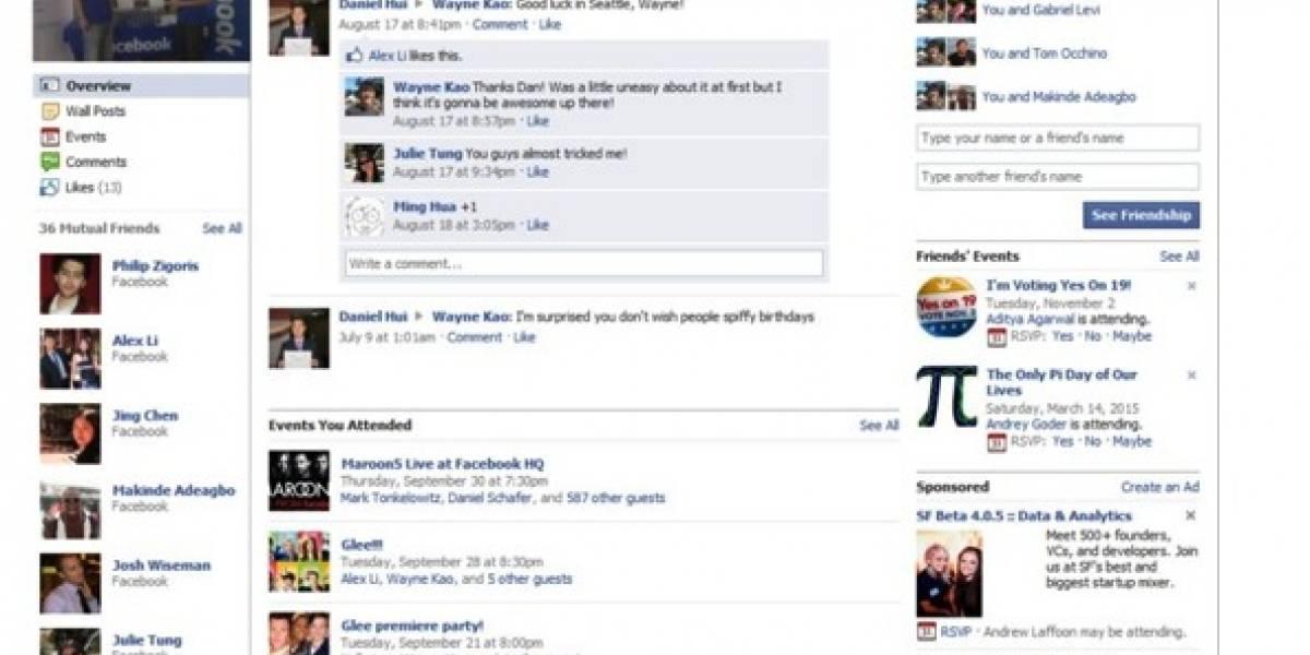 Facebook ahora quiere contar historias de amigos