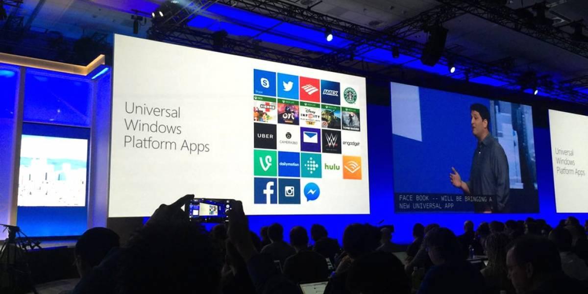 Facebook tendrá su aplicación universal en Windows 10