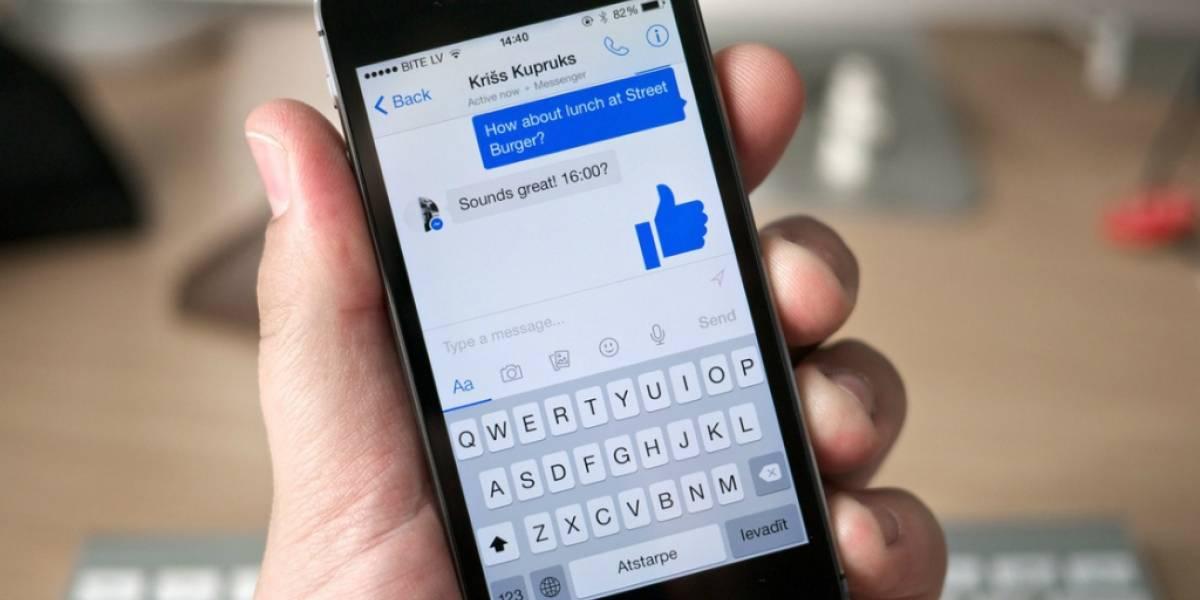 Facebook trabajaría en aplicación de Messenger para Mac OS