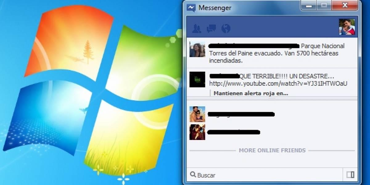 Ya puedes descargar (oficialmente) Facebook Messenger para Windows