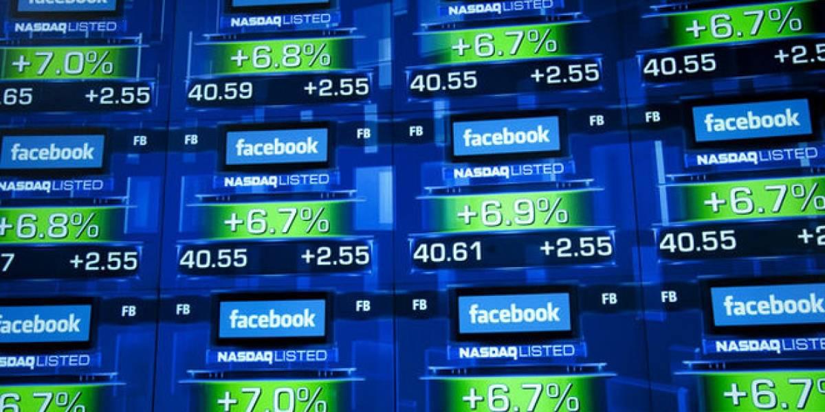 La entrada de Facebook a la bolsa fue la peor en diez años