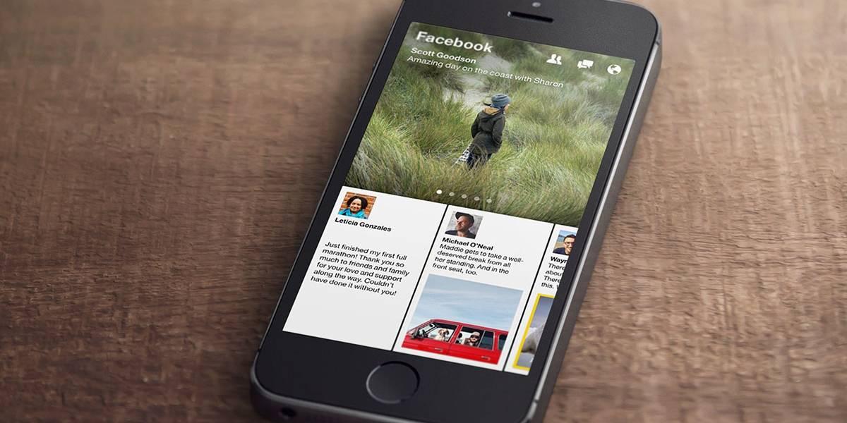 Facebook lanza Paper, lector de noticias para móviles
