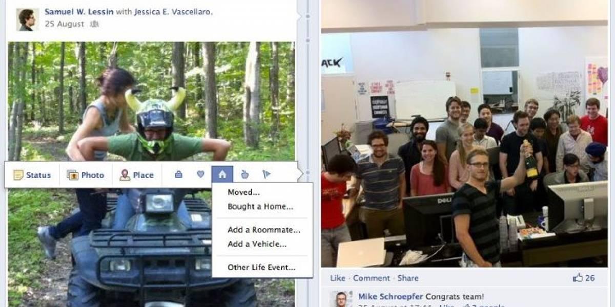 """Facebook reveló """"Timeline"""", su nueva forma de perfiles"""