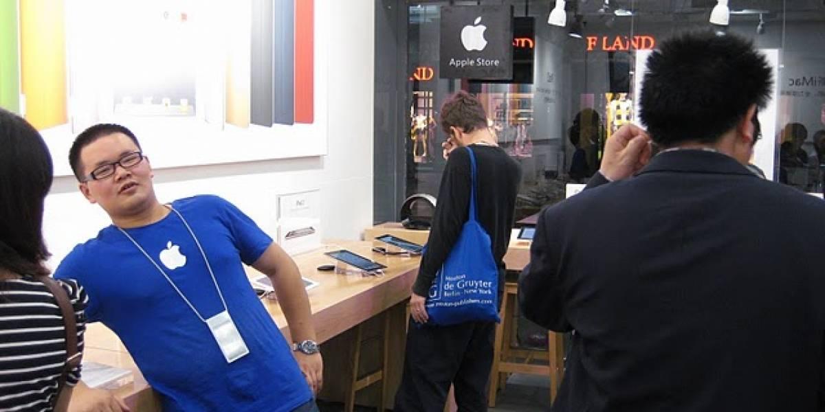 Clientes chinos se enfurecen con la falsa Apple Store