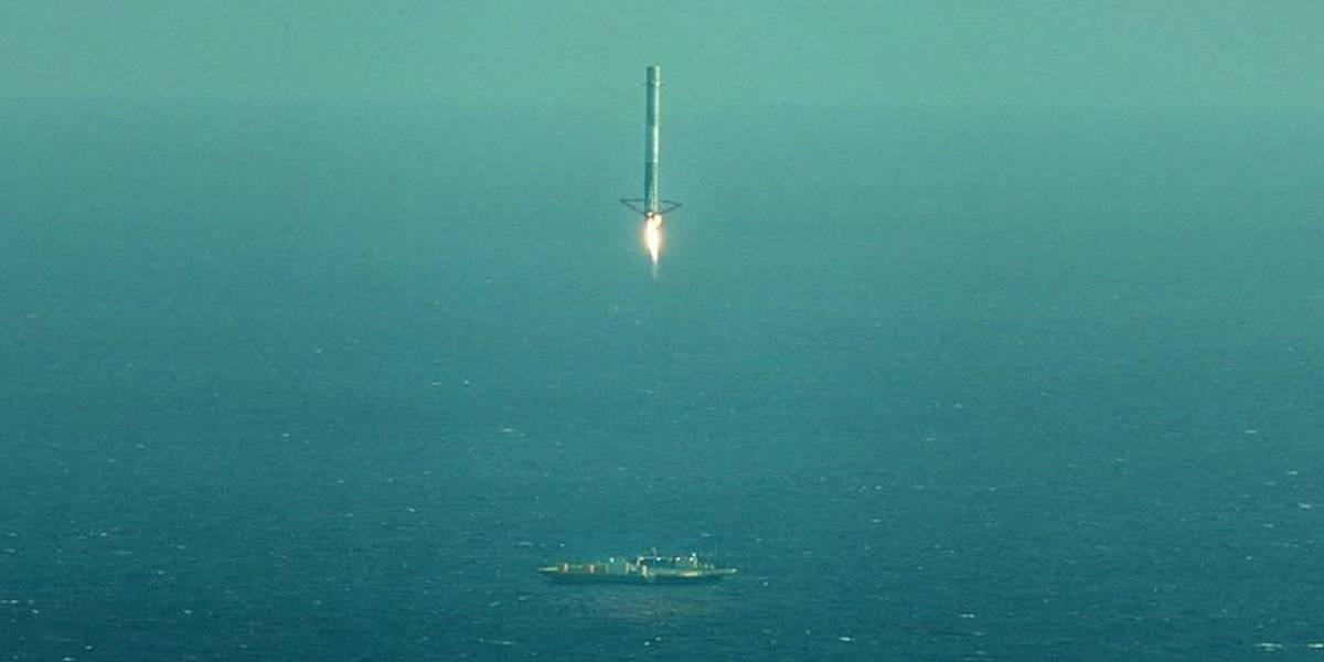 Surge más material en video de la explosión del Falcon 9 de SpaceX