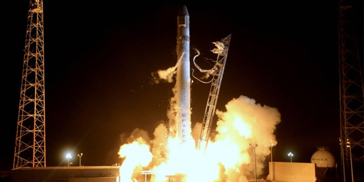 Cohete de SpaceX despegó con éxito pero presentó problemas a los nueve minutos del lanzamiento