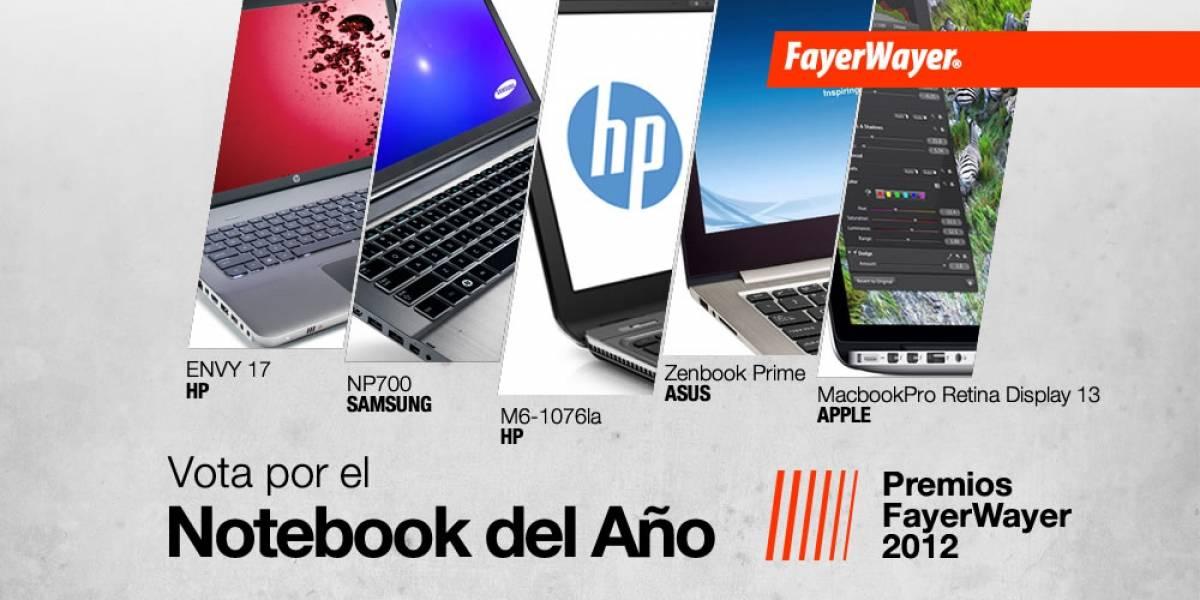Pila de Oro: Vota por el Mejor Computador Portátil del 2012