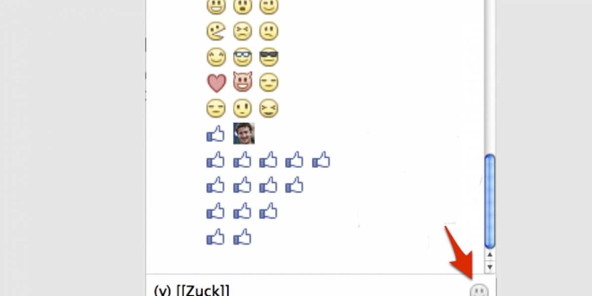 """Facebook agrega emoticonos a su chat, incluyendo la mano """"me gusta"""""""