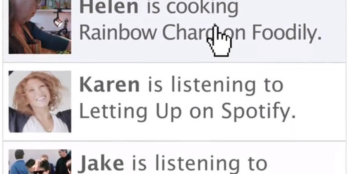 El nuevo Open Graph de Facebook busca hacer más sociales a las aplicaciones