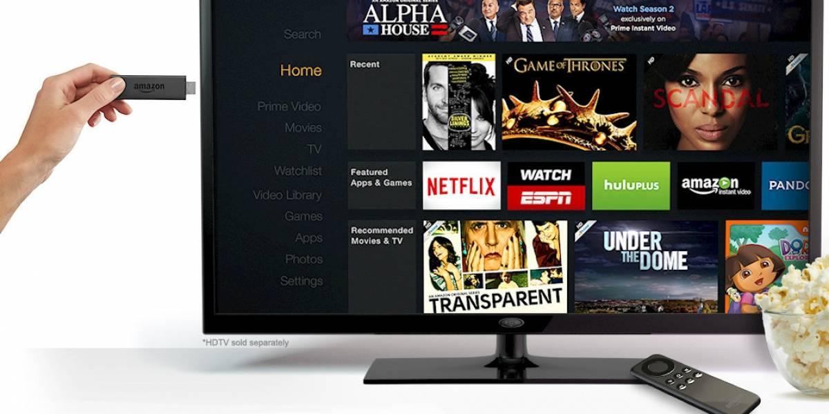 Amazon lanza Fire TV Stick para competir con Chromecast