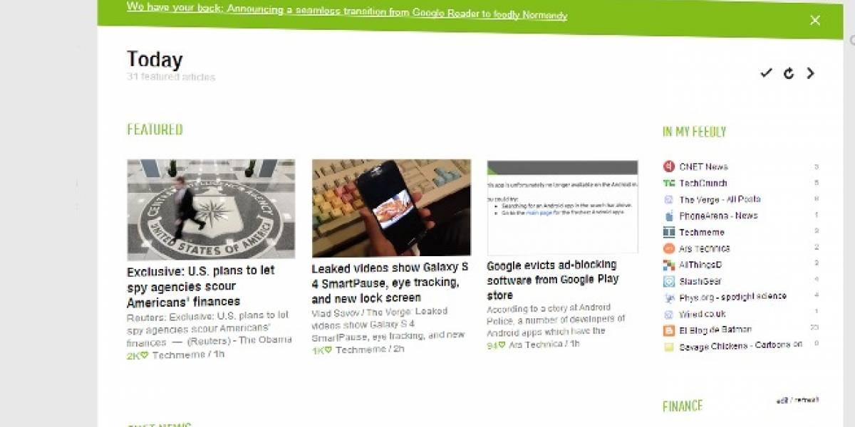 Las tres mejores alternativas a Google Reader y cómo migrar con tus feeds