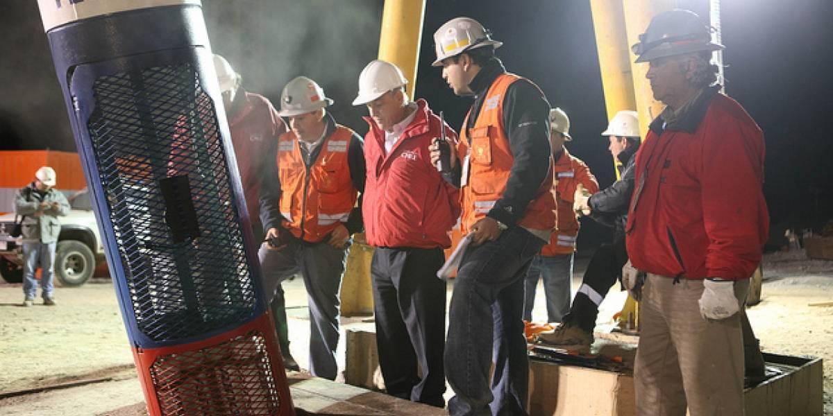 Transmisión oficial del rescate a los mineros vía Internet