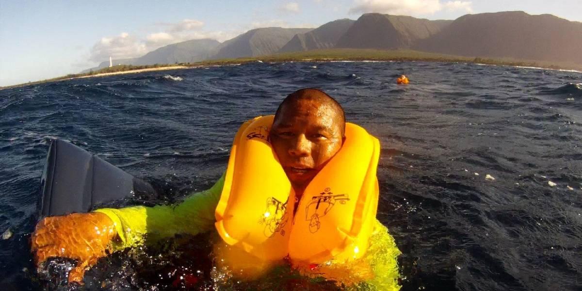 Cámara GoPro graba el momento en que un avión amariza en el océano