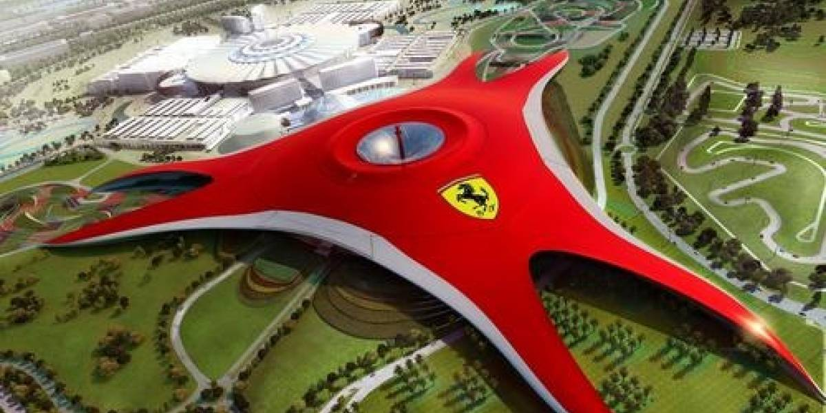 Ferrari instala enorme parque temático en Abu Dhabi