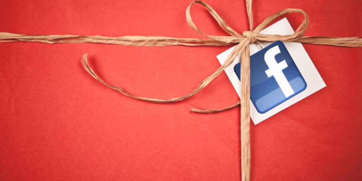 Facebook elimina la posibilidad de enviar regalos físicos a tus amigos