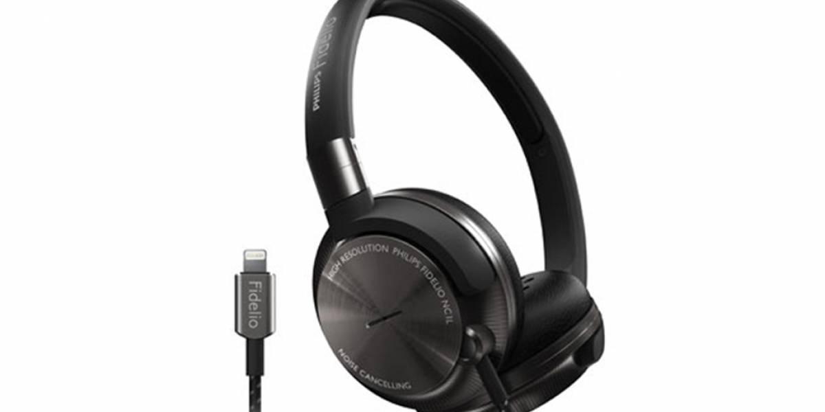Philips lanza los auriculares Fidelio NC1L con conector Lightning
