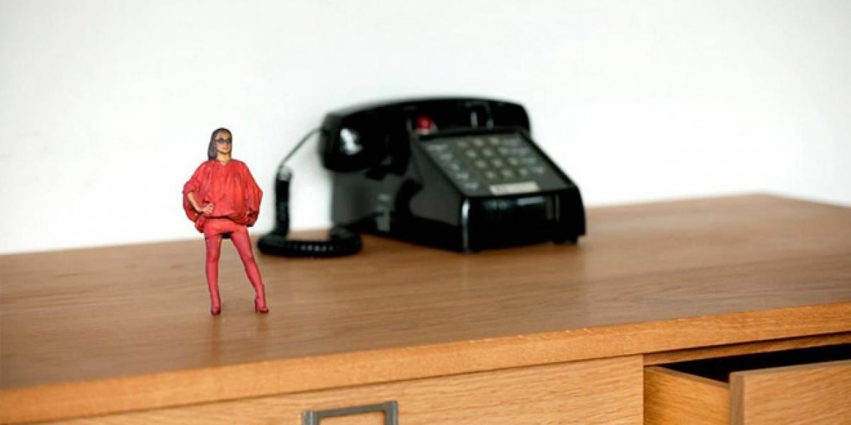 En Japón hay una cabina fotográfica que imprime figuritas 3D de los fotografiados