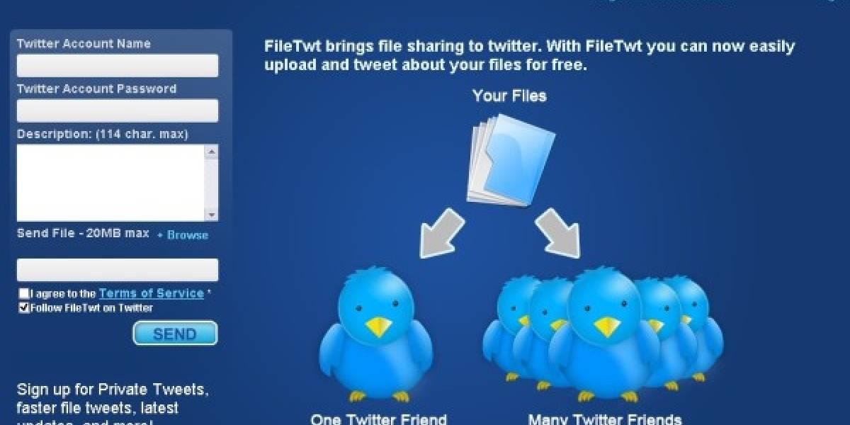 FileTwt: Compartiendo archivos con Twitter