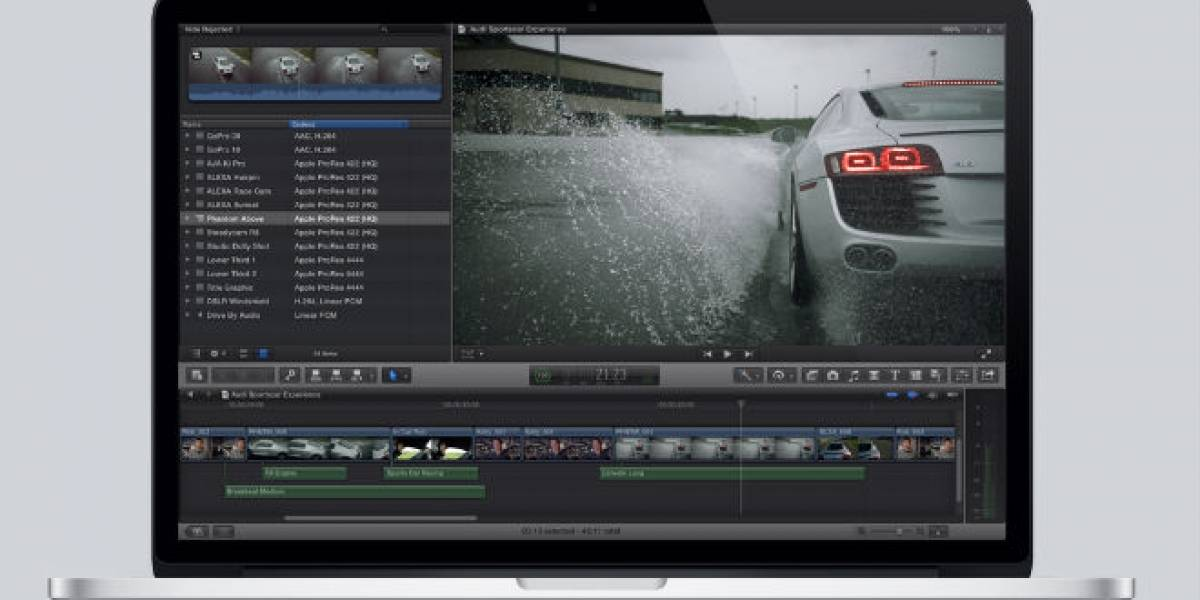 Apple intenta reconquistar a los que abandonaron Final Cut Pro X