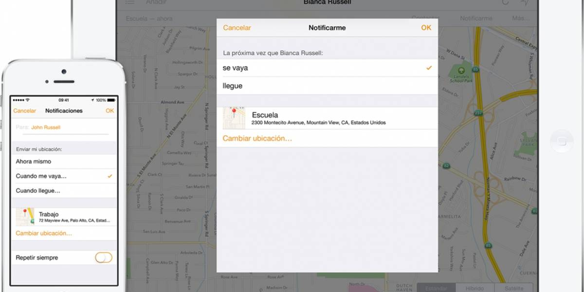 Find My Friends de Apple ya está disponible en la web de iCloud