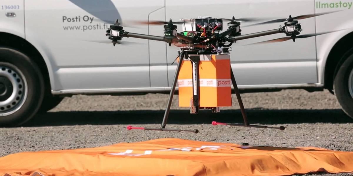 Finlandia inicia pruebas con drones para repartir correo