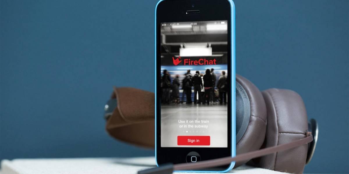El enorme potencial de una función de iOS 7 para comunicarte sin tener señal