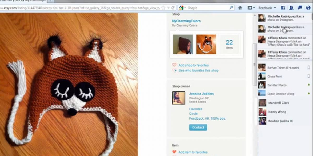 Firefox integra el chat de Facebook en el navegador