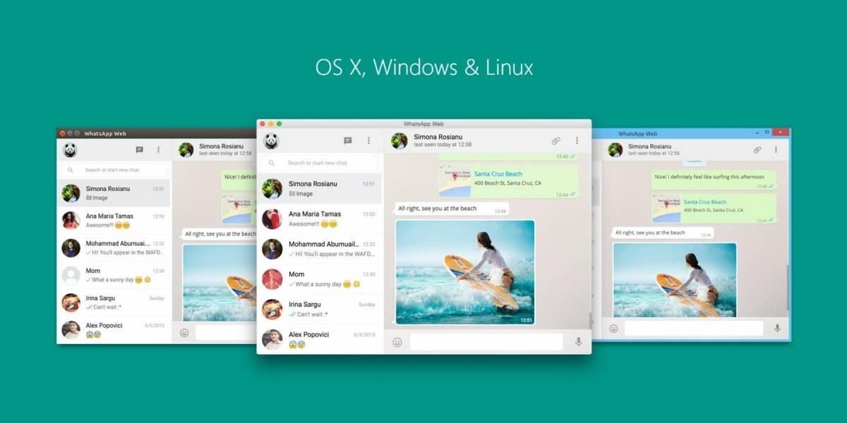 Desarrollador lanza cliente de WhatsApp y Messenger para Windows, OS X y Linux