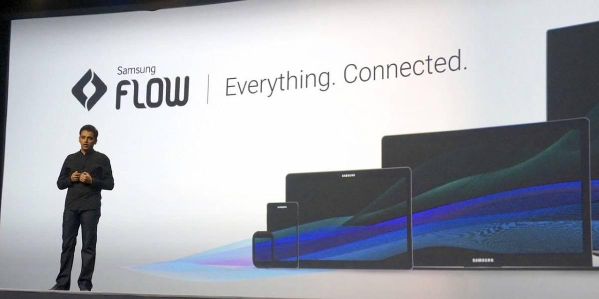 Samsung Flow: comienza una tarea en un dispositivo y termina en otro
