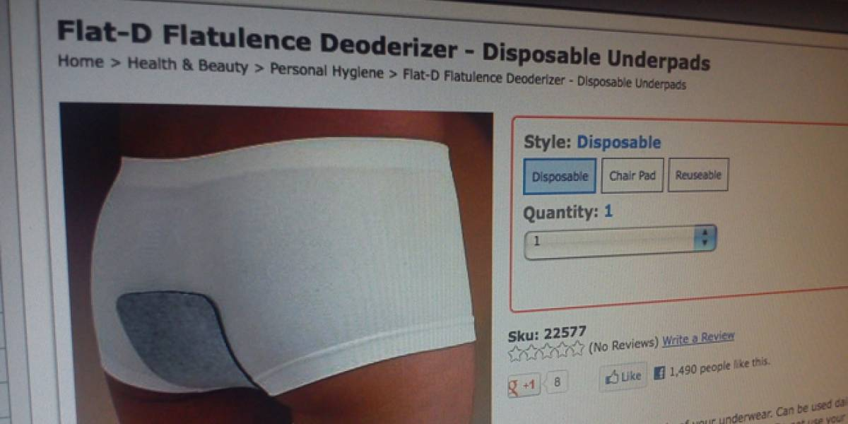 Disfraza el olor de tus flatulencias con este parche-desodorante