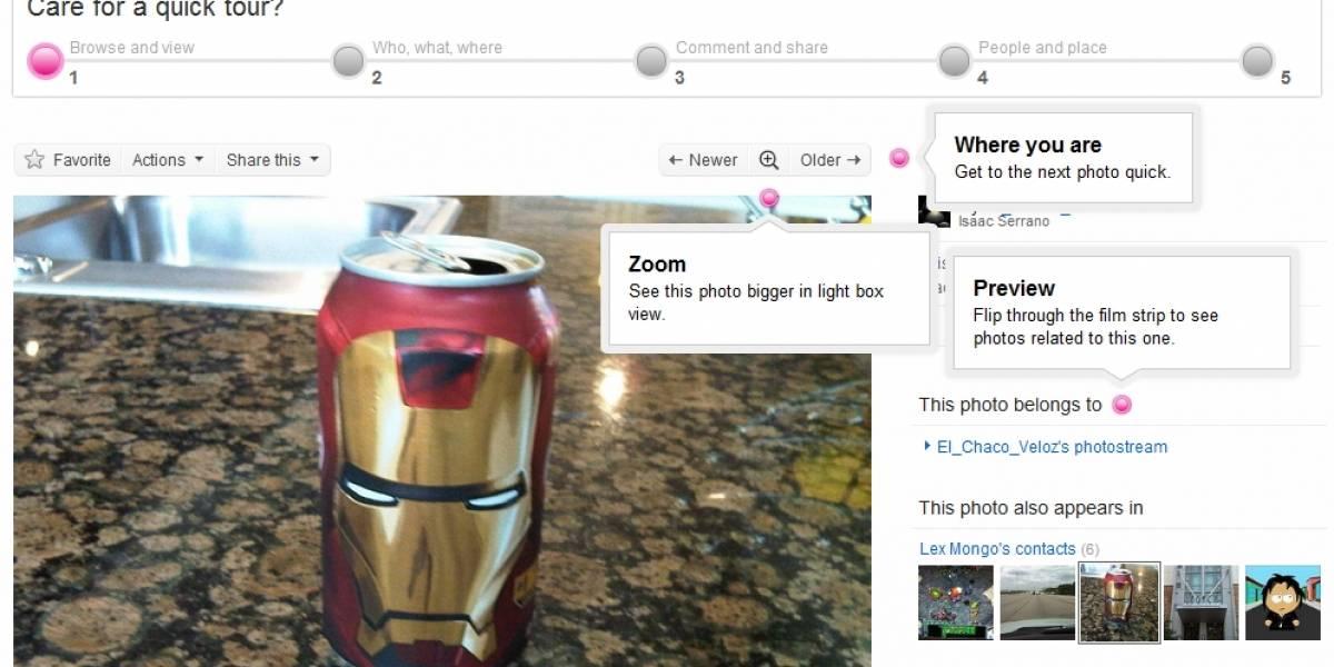 Flickr presenta novedades y mejoras