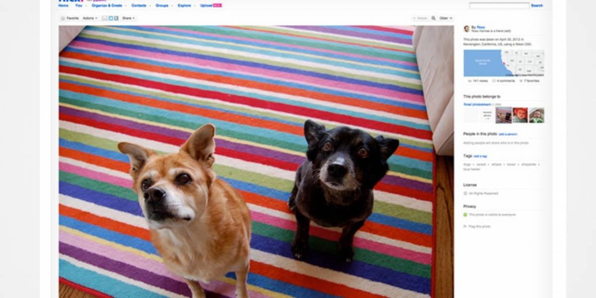 Flickr lanza nueva interfaz con imágenes de alta resolución