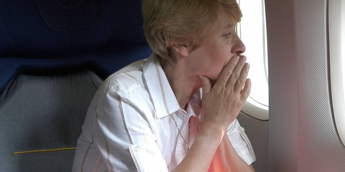 Sensores en aviones podrían determinar si un pasajero está enfermo o ansioso
