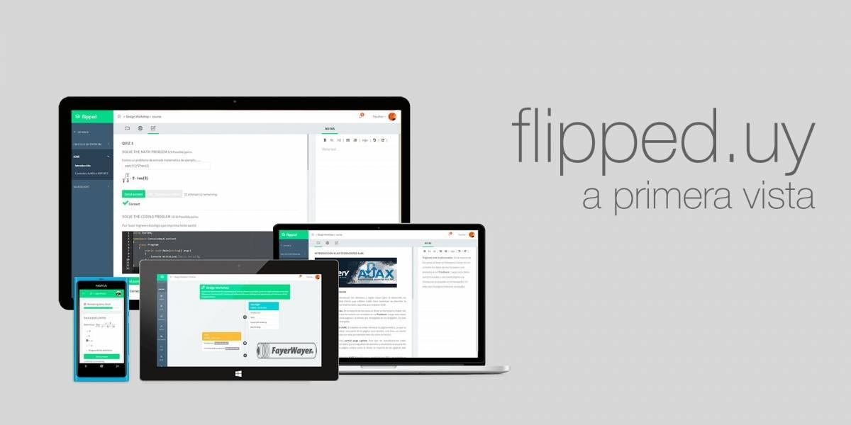 Flipped, una plataforma para crear y gestionar cursos en línea