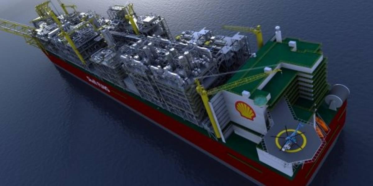 Shell quiere construir el barco más grande del mundo