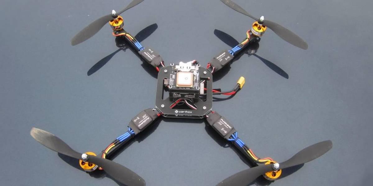 Mira el vuelo veloz de este impresionante dron