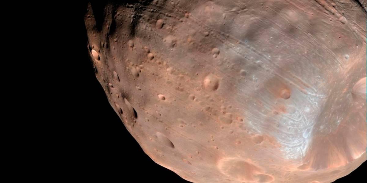 NASA afirma que Marte estaría desintegrando lentamente a Fobos