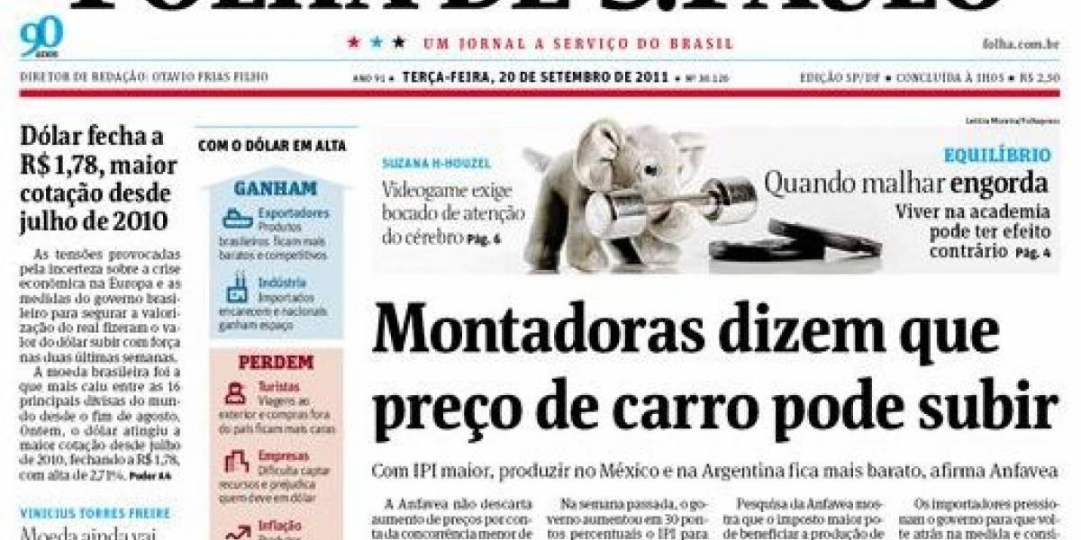 El periódico brasileño Folha de São Paulo lanza sitio de denuncias similar a Wikileaks