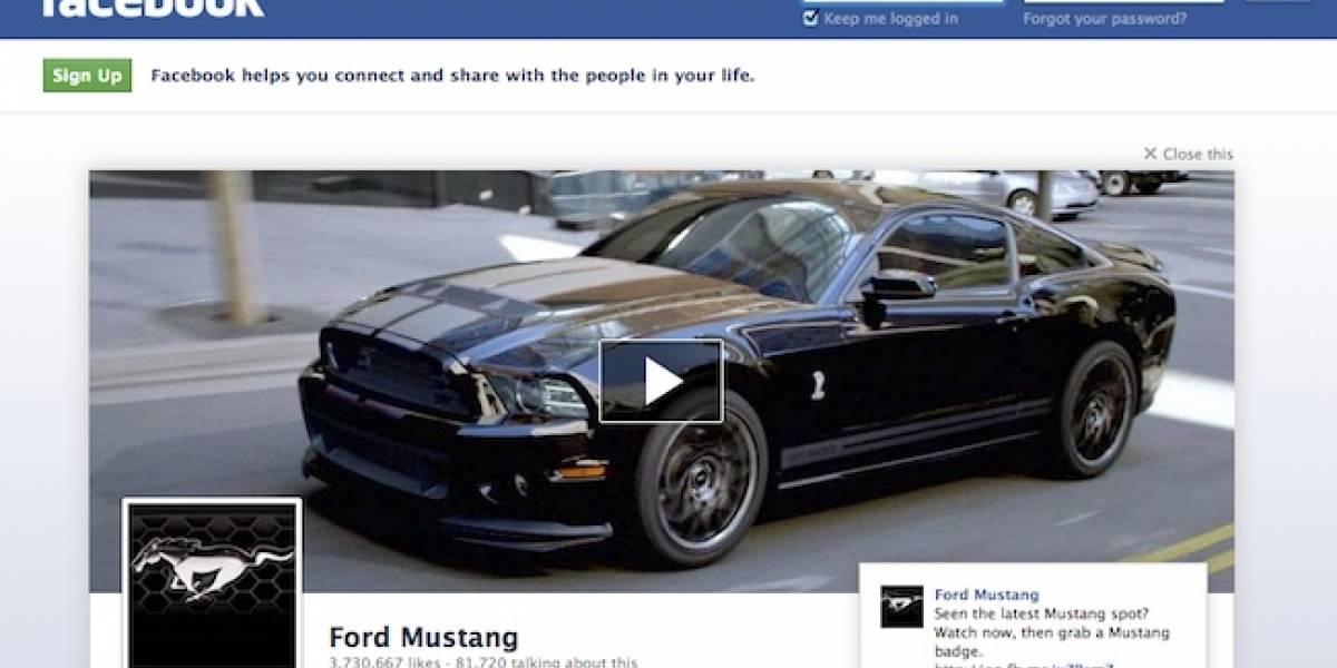 Poner un anuncio en la página de cierre de Facebook costaría USD $700.000 por día